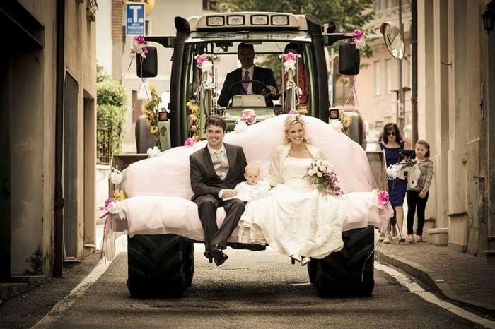 Matrimonio In Arrivo : Spose con il trattore luna di miele forum matrimonio