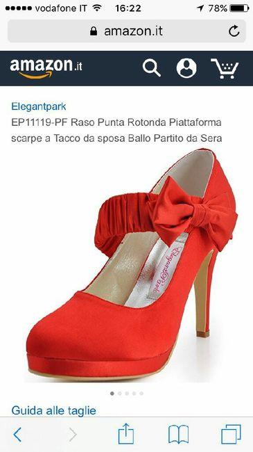 Scarpe rosse. vanno bene? - 4