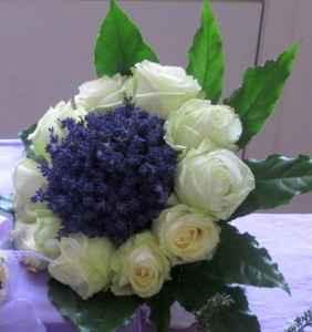idee bouquet blu