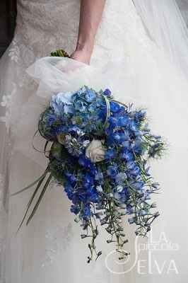 idee bouquet blu 2