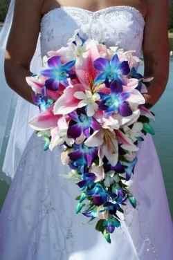 idee bouquet blu 3