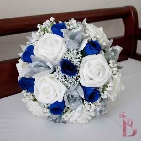 idee bouquet blu 4