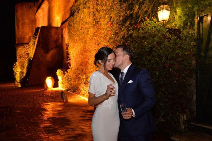 Prima notte di nozze in hotel e abito da sposa ! 1