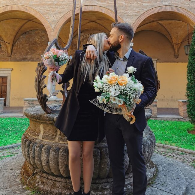 ☘️ Mazzolino di fiori per le Promesse di Matrimonio 💐 3