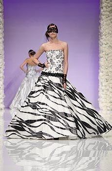 Vestito Da Sposa Zebrato.Vestito Da Sposa Zebrato