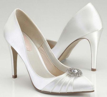Scarpe Da Sposa Tacco 8 Cm