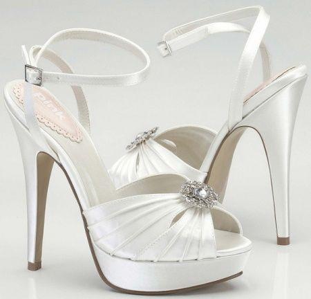 Scarpe Sposa 9 Cm.Scarpe Da Sposa Con Tacco Alto 9 11 O 12 Cm Salute Bellezza E