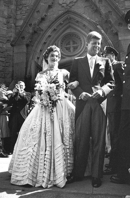 Vestito da sposa di Jackie Kennedy