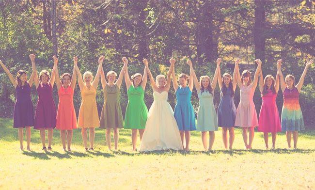 ¿Los colores de la boda serán? 4