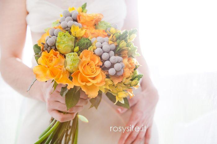 Fiori arancioni per matrimonio in primavera for Tulipani arancioni