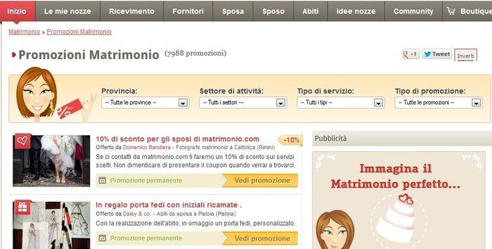 Promozioni matrimonio.com
