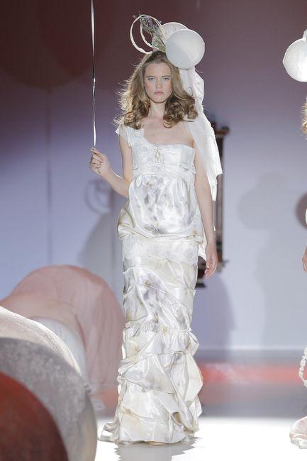 Vestiti da sposa colorati 2014 - Foto Moda nozze