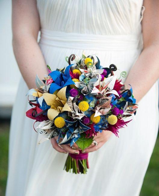 Bouquet Da Sposa Originali.Un Aggettivo Per 6 Bouquet Da Sposa Originali Forum Matrimonio Com