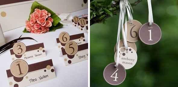 Dettagli matrimonio al cioccolato