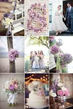Idee nozze lilla e bianco