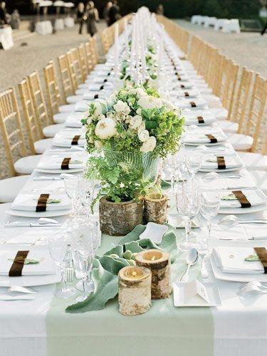 Matrimonio In Bianco : Tema: bianco e verde ricevimento di nozze forum matrimonio.com