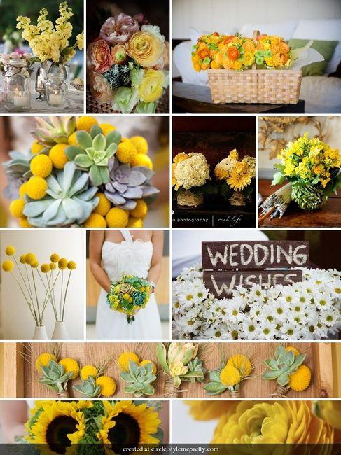 Idee Matrimonio Girasoli : Spose in giallo ci siete forum matrimonio