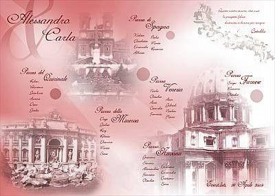 Tableau marriage Roma