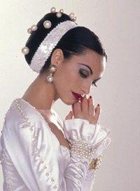 Acconciatura matrimonio con fascia Fascia sposa ... 7c234954bdae