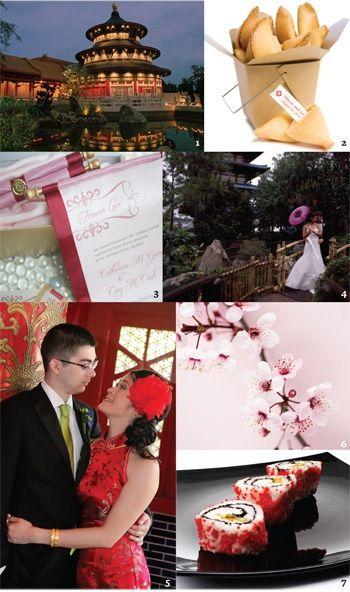 Matrimonio Tema Giappone : Nozze tema giappone foto ricevimento di