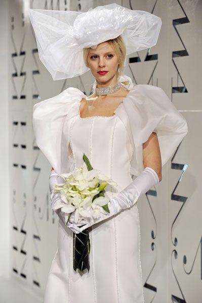 Top ten de los vestidos de novia más feos!! 1