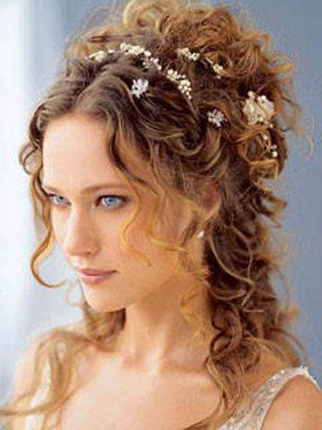 15 acconciature per le spose dai capelli ricci naturali - acconciature capelli ricci sposa 2016