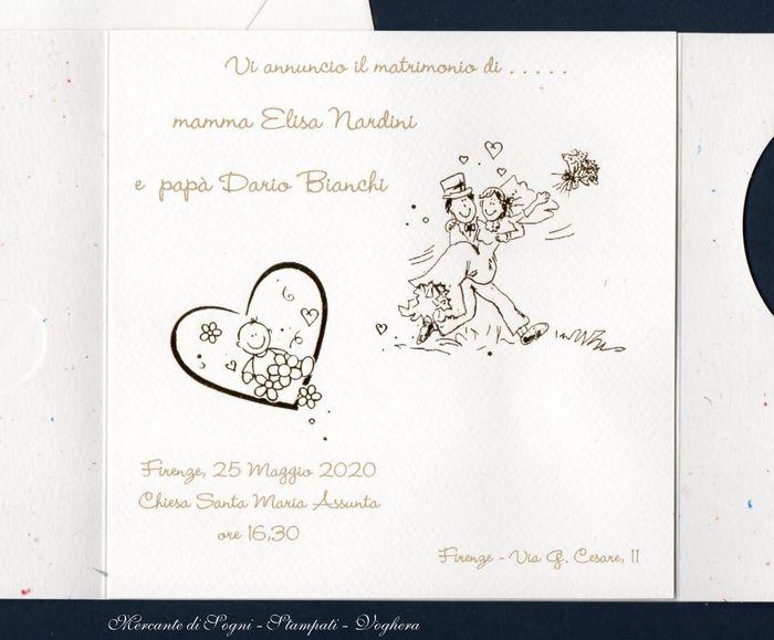 Preferenza Partecipazioni!!!!! idea!!!! - Organizzazione matrimonio - Forum  FH03