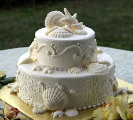 Torta nuziale tema mare - Foto Organizzazione matrimonio