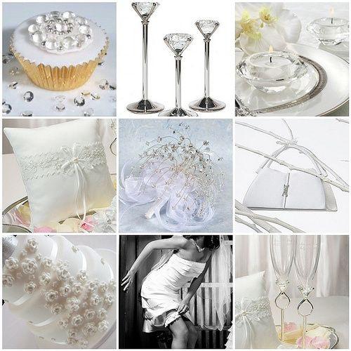Matrimonio Tema Diamanti : Idee tema matrimonio diamanti foto