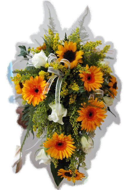 Bouquet Matrimonio Girasoli : Bouquet sposa girasoli foto nozze lombardia