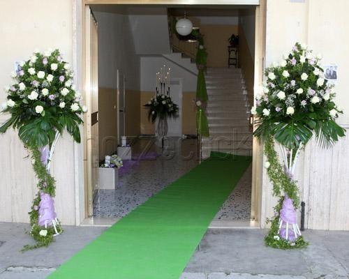 Perfect addobbi matrimonio casa sposa scale addobbo fuori - Addobbi tavoli matrimonio casa ...
