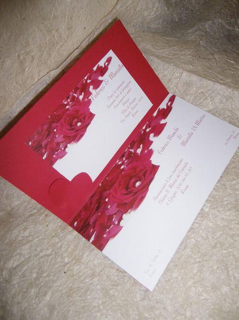 Matrimonio Tema Rose Rosse : Partecipazioni matrimonio rose rosse foto nozze emilia
