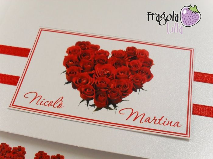 Matrimonio rose rosse