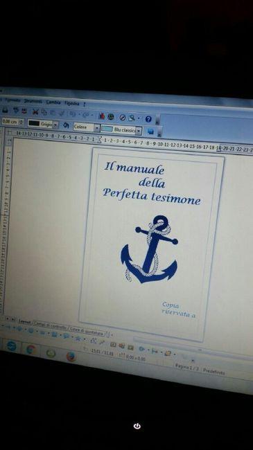 Finalmente il mio manuale della perfetta testimone - 1