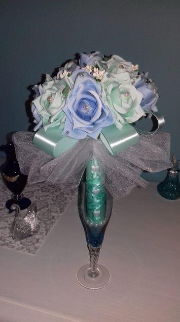 Bouquet finto da lancio fai da te 1