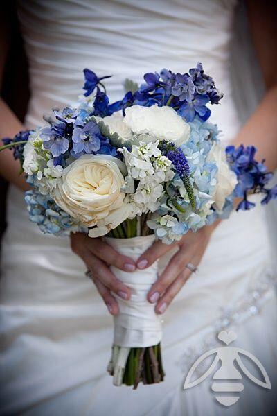 Matrimonio Azzurro Ortensia : Bouquet fiori azzurri prima delle nozze forum matrimonio