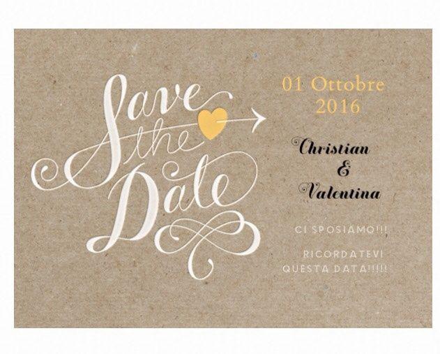 Il mio Save the date