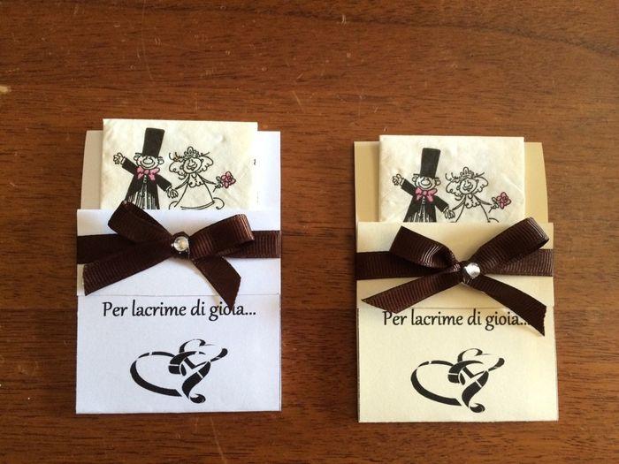 Eccezionale I miei porta fazzoletti !! - Organizzazione matrimonio - Forum  EZ04