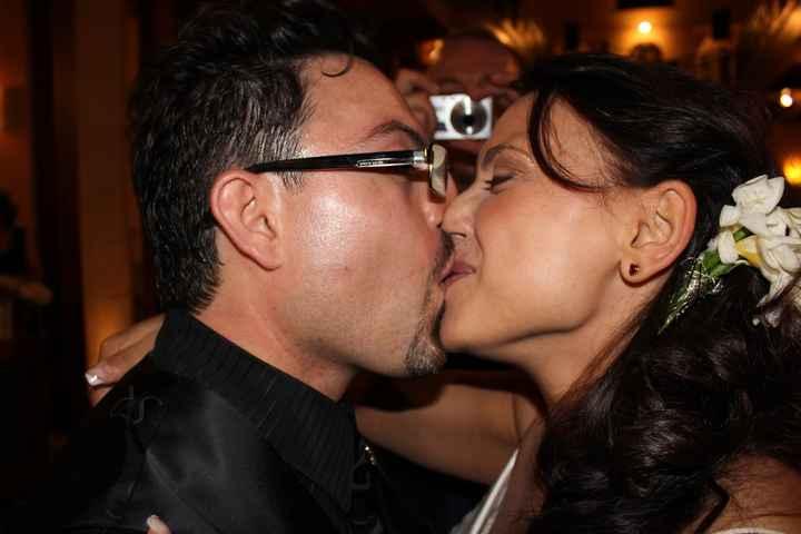 che bacio....