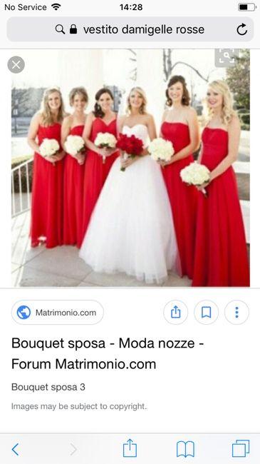 best service 858ad c088f Rosso- vestito damigelle - Pagina 2 - Moda nozze - Forum ...