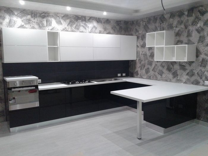 Emejing Cucine Bianche E Nere Contemporary - Amazing House Design ...