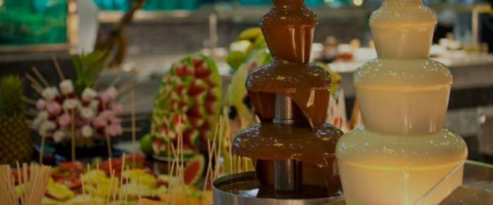 Fontana di cioccolato 🍫 1