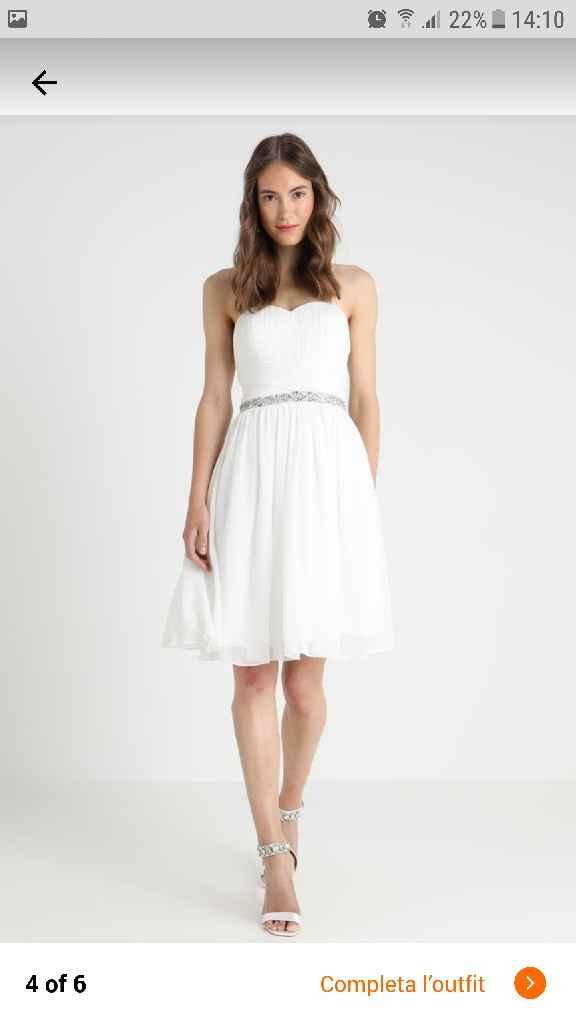Secondo abito da sposa (cambio abito) - 1