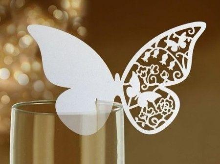Farfalle Segnaposto Matrimonio.Segnaposto Farfalla Bicchieri Fai Da Te Fai Da Te Forum