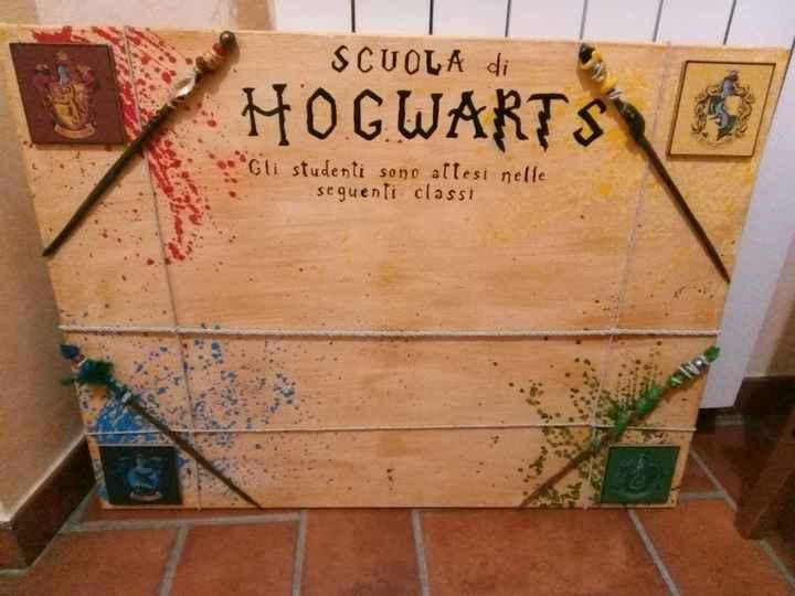 Tema Harry Potter fai da te 2