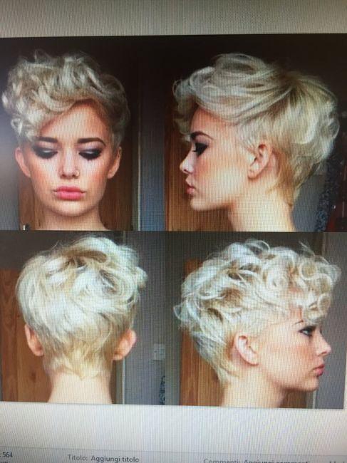 Spose con i capelli cortissimi - 3