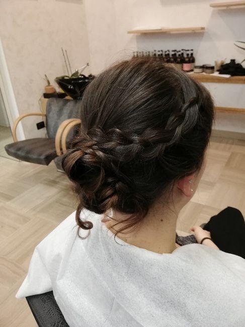 Prova trucco e capelli. Cosa ne pensate? 1