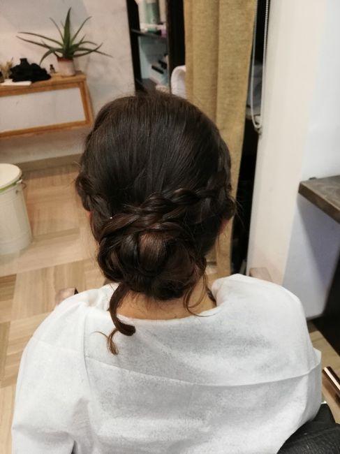 Prova trucco e capelli. Cosa ne pensate? 4