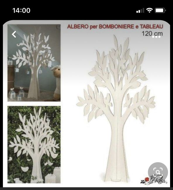 Tableau albero della vita cartone 1