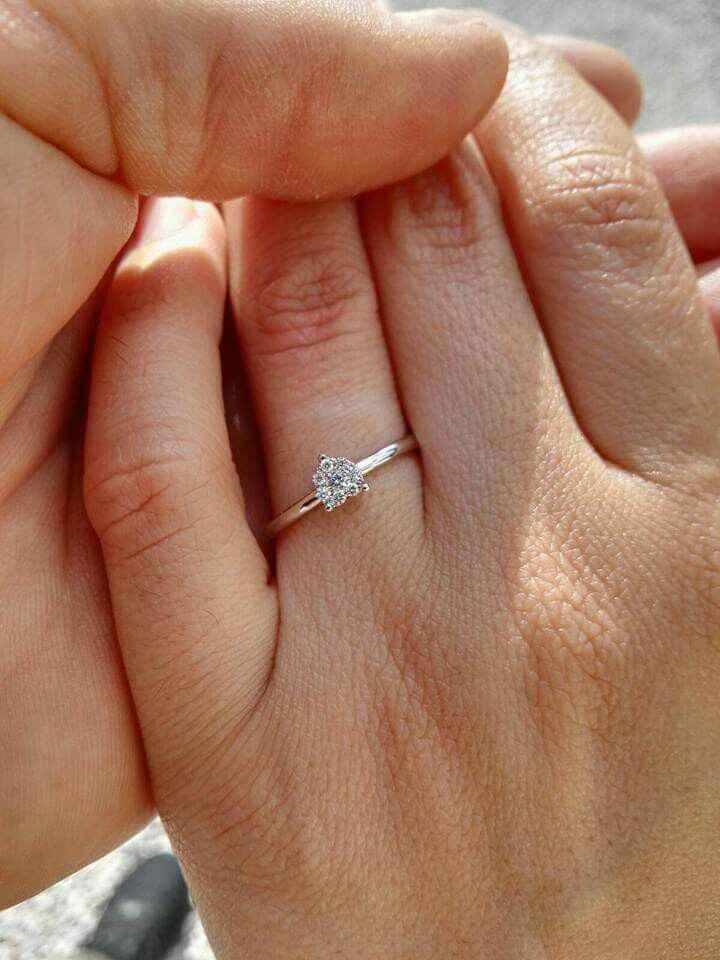 Anello 💍 di fidanzamento - 1
